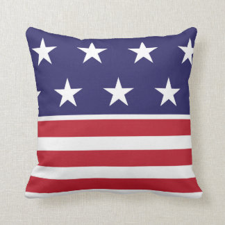 Red, White, and Blue, Throw Pillow