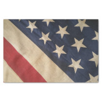 Red, White and Blue Tissue Paper