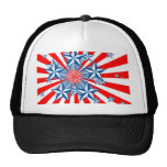 Red White and Blue Trucker Hat