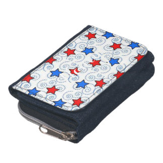 Red White and BLue Wallets