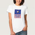 Red White And Blue Wine Brewer Tee Shirt