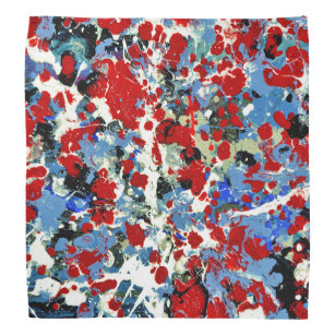 Red White And Blue Bandanas Handkerchiefs Zazzle