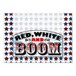 Red White and Boom Announcements