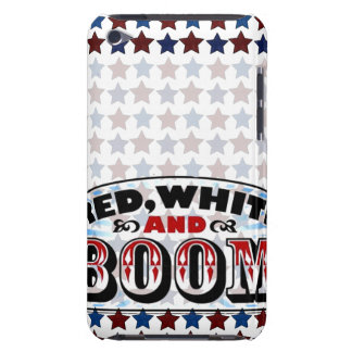 Red White and Boom Barely There iPod Cases