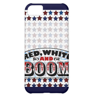 Red White and Boom Case For iPhone 5C