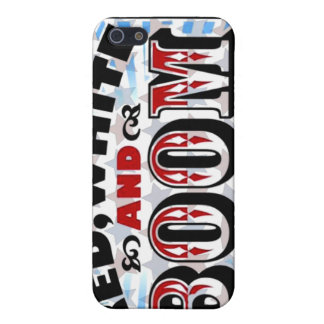 Red White and Boom Cases For iPhone 5