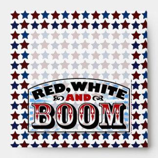 Red White and Boom Envelopes