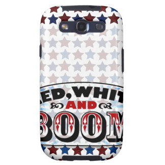 Red White and Boom Galaxy SIII Cases