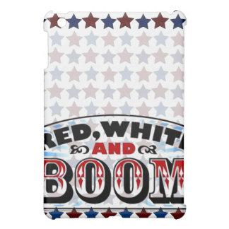Red White and Boom iPad Mini Cases