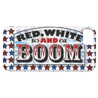 Red White and Boom iPhone 5 Case