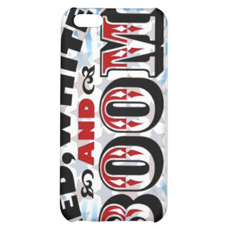 Red White and Boom iPhone 5C Cover