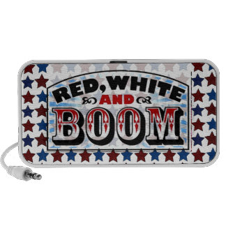 Red White and Boom Portable Speaker