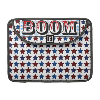 Red White and Boom Sleeve For MacBooks