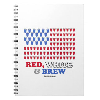 Red White and Brew Notebook