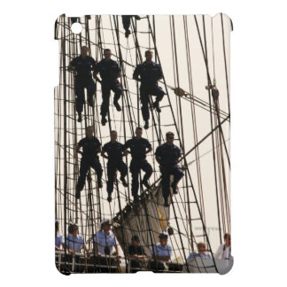 Red White and Hang On Sailors on Tall Ship Case For The iPad Mini