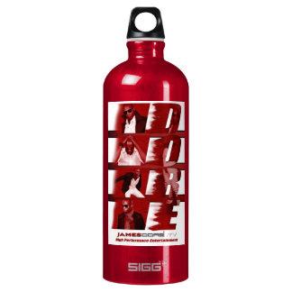 RED White back drop Bottle