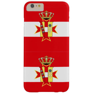 Red White Banner Grand Duchy of Tuscany Barely There iPhone 6 Plus Case