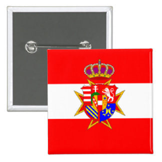 Red White Banner Grand Duchy of Tuscany Pins