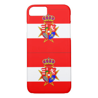Red White Banner Grand Duchy of Tuscany iPhone 7 Case