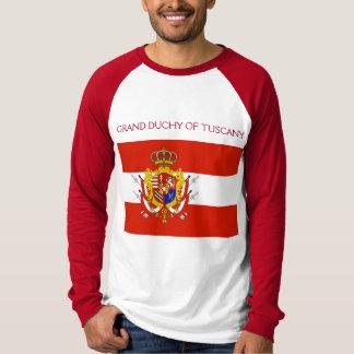 Red White Banner Grand Duchy of Tuscany Shirt