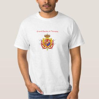 Red White Banner Grand Duchy of Tuscany Tee Shirt