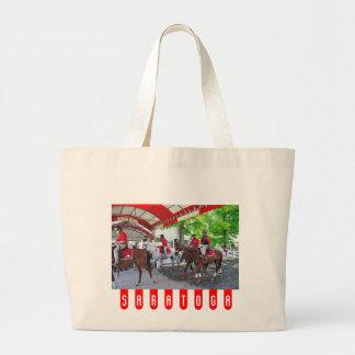 RED- WHITE & BAY TOTE BAG