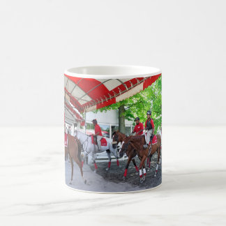 RED- WHITE & BAY CLASSIC WHITE COFFEE MUG