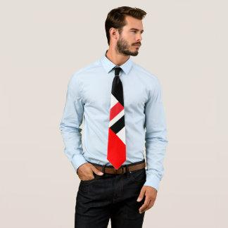 Red White Black Tie