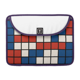 Red White Blue Abstract Mac Cover Sleeve For MacBook Pro