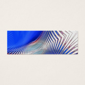 Red White Blue Abstract ~ profile card