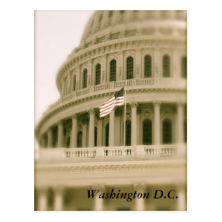 Red, White & Blue and the Capitol Postcard
