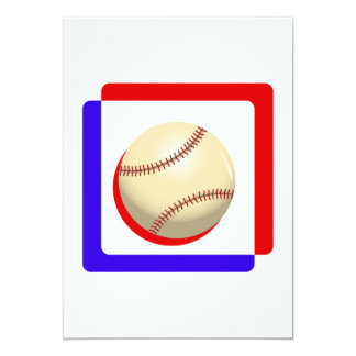Red white & blue ball.png 5x7 paper invitation card