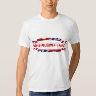 Red, White & Blue Banners Tee Shirt