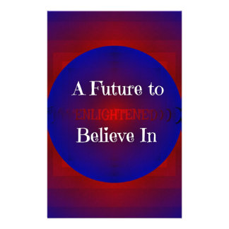 Red White Blue Bernie 'Future To Believe In' Stationery