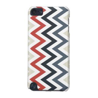 Red White Blue Chevron Geometric Designs Color iPod Touch (5th Generation) Case