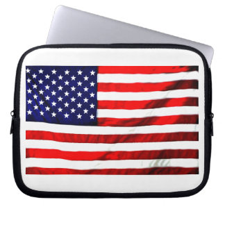 Red White Blue Computer Sleeve