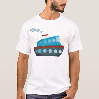 Red White Blue Cruise Ship T-Shirt