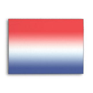 Red White Blue Envelopes