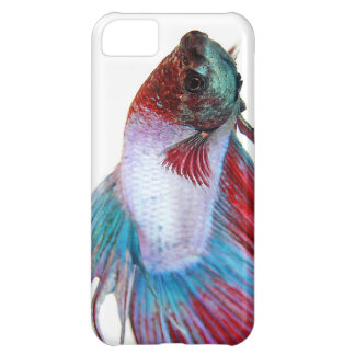 Red White & Blue (Fish on white background) Case For iPhone 5C