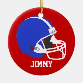 Red, White, & Blue Football Helmet Ornament
