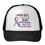 Red White Blue For My Granddaughter Trucker Hat
