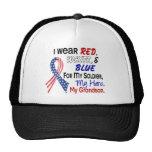 Red White Blue For My Grandson Trucker Hat