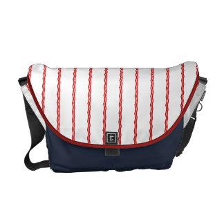 Red, White & Blue II Rickshaw Messenger Messenger Bag