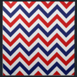 "Red, White, Blue Large Chevron ZigZag Pattern Cloth Napkin<br><div class=""desc"">Red, White and Blue Large Chevron ZigZag Pattern You can also customize this with your own images and text to create your own unique one-of-a-kind design. Please note that this is a digitally created graphic design that&#39;s transferred to the underlying product. The design itself doesn&#39;t contain actual ribbon, labels, metals,...</div>"