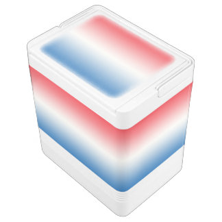 Red White & Blue Ombre Cooler