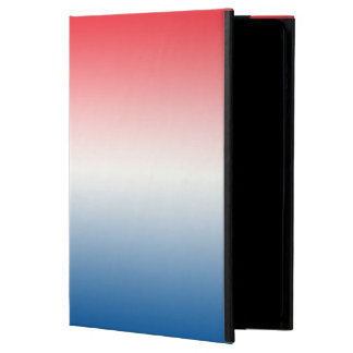 Red White & Blue Ombre iPad Air Cover