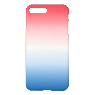 Red White & Blue Ombre iPhone 8 Plus/7 Plus Case