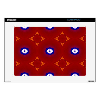 Red White Blue Patriotic Summer Colors Decals For Laptops