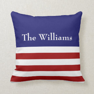 Red, White & Blue Pillow