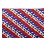 Red White & Blue Place mat Cloth Placemat
